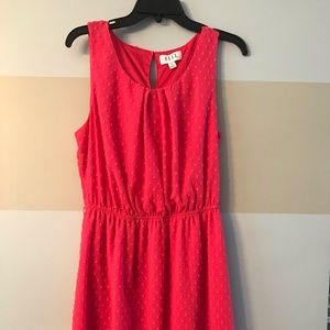 Pink Elle texted dress